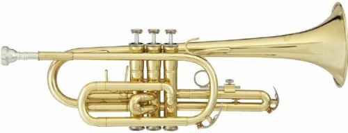 Blessing Cornet Bb w/Case Band-BCR-1230 by Blessing