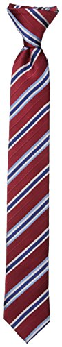 - Dockers Big Boys' Stripe Clip On Tie, Red, One Size