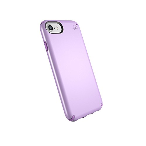 Speck Products Presidio Metallic Case for iPhone 8 (Also Fits 7/6S/6), Taro Purple Metallic/Haze Purple ()