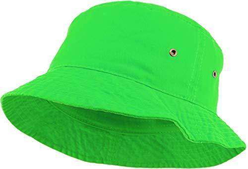 SH-220-87-LXL Vintage Fitted Safari Bucket Hat: Neon Green (L/XL)]()