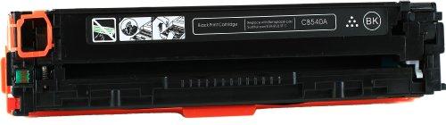 Black Compatible HP125A / CB540A Toner Cartridge Compatible with HP Color LaserJet CM1312 MFP, Color LaserJet CM1312nfi, Color LaserJet CP1215, Color LaserJet CP1515n, Color LaserJet CP1518ni Ink © Blake Printing Supply (Cm1312nfi Colour)