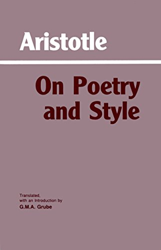 On Poetry and Style (Hackett Classics)