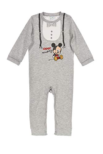 Disney Baby Boys Mickey Mouse Boat Sleepsuit