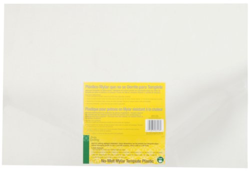 Wrights 670053 Extra Thick Plastic Quilt Template