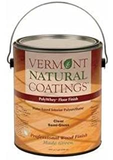 Vermont Natural Coatings PolyWhey FLOOR FINISH Semi Gloss Gallon