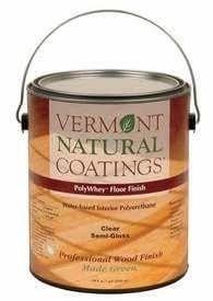 Vermont Natural Coatings Polywhey Floor Finish Semi Gloss