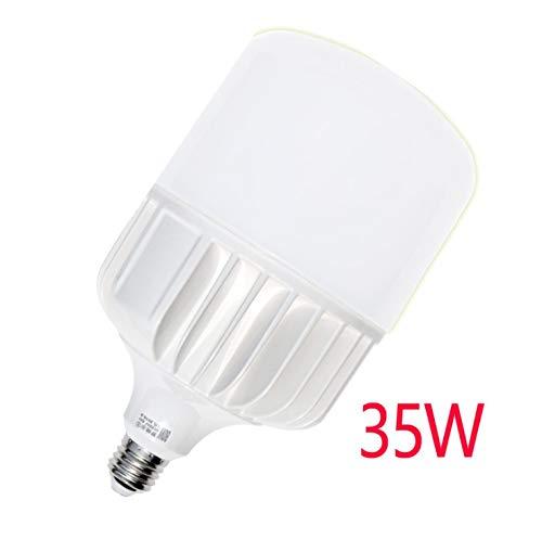 LED Light Base E27 B22 LED Light, 3W-60W Different Scenes, Natural Light Warm Light Cool White, Energy Saving Bulb 35W B22 (Mount) Warm Yellow