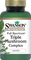 Full Spectrum Triple Mushroom Complex 60 Caps by Swanson Premium