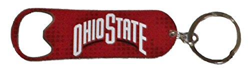Nfl Team Design Key Ring (NCAA Ohio State Buckeyes 2014 Bottle Opener Keychain Digital Design, One Size, Red)