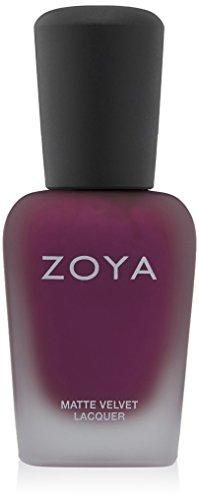 ZOYA Nail Polish, Iris Mattevelvet, 0.5 Fluid ()