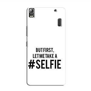Cover It Up Selfie First Hard Case For Lenovo A7000, Multi Color