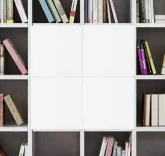Legno&Design Antina para estantería estantería cubo librería ...