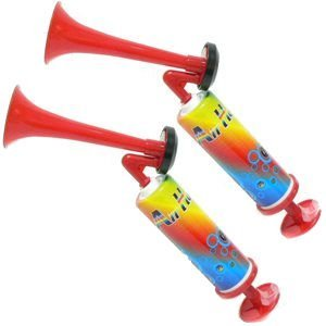 Pump Air Horn - Extremely Loud - (2 PACK) -
