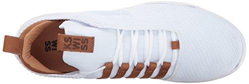 K-swiss Hombres Gen-k Icon Knit Sneaker Blanco / Marrón