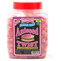 BARNETTS Sugar Free Aniseed Twist 500g