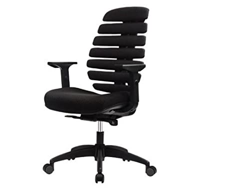 flexible office furniture. Eurotech Seating FLX500-BLK Ergonomic Flexible Office Chair Black Furniture S