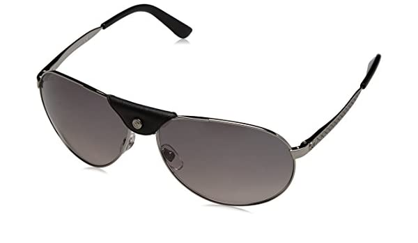 Gucci GG 2226/S Gafas de sol, Ruthenium, 63 para Hombre ...