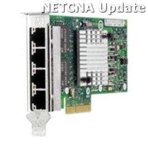 593722-B21 HP PCIe Quad Port Server Adapter Card Compatible Product by NETCNA by NETCNA