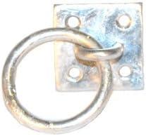 Fitness suspensión entrenamiento salud galvanizas montaje en pared anillo y gancho | TRx entrenador sistemas | Entrenamiento de resistencia montaje