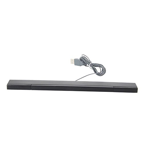 - Nextronics Sensor Bar USB for Wii / Wii U / PC / Mac / Emulator - Stylish Black Color