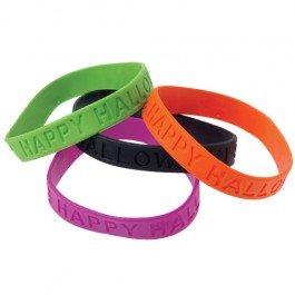 Halloween Rubber Bracelets- 36 (Halloween Rubber Bracelet)