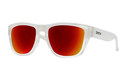 Smith Optics Unisex Clark Lifestyle Sunglasses Crystal Split - Crystal Clark