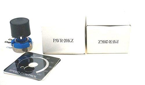 2 NEW ORIENTAL MOTOR PAVR-20KZ POTENTIOMETER PAVR20KZ ()
