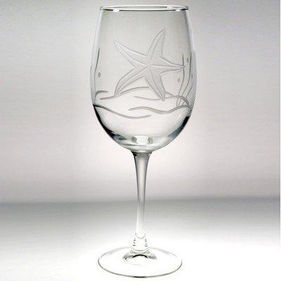 Rolf Glass Starfish All Purpose Wine Glass (Set of - Glasses Starfish