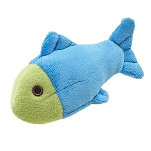 Fluff & Tuff Molly the Fish Plush Dog Toy