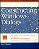 Constructing Windows Dialogs, Steve W. Rimmer, 0070530092