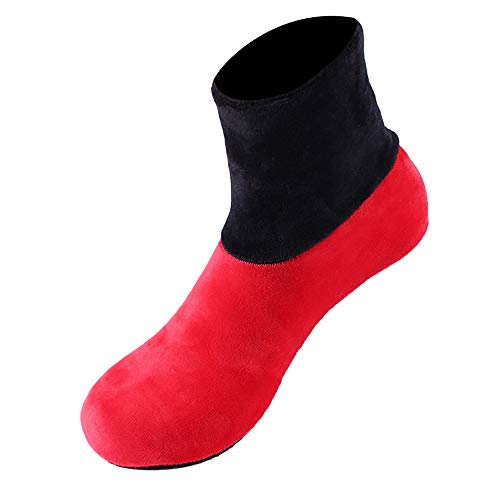- URIBAKE 2019 Fashion Women Winter Thermal Thicken Non Slip Home Bed Socks Elastic Floor Socks Slipper