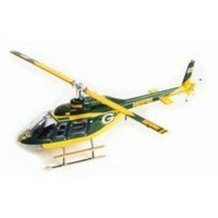 Green Bay Packers 2003 NFL Limited Edition Die-Cast 1:43 Bell Jet Ranger Helicopter Collectible (Helicopter Ranger Bell Jet)