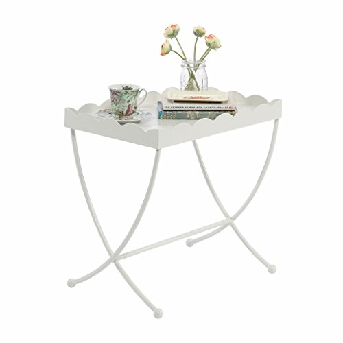 Sauder 419430 Eden Rue Side Table, L: 13.47