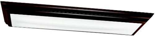 Kichler 10847OZ Chella Linear Ceiling 54in Fluorescent, Olde Bronze