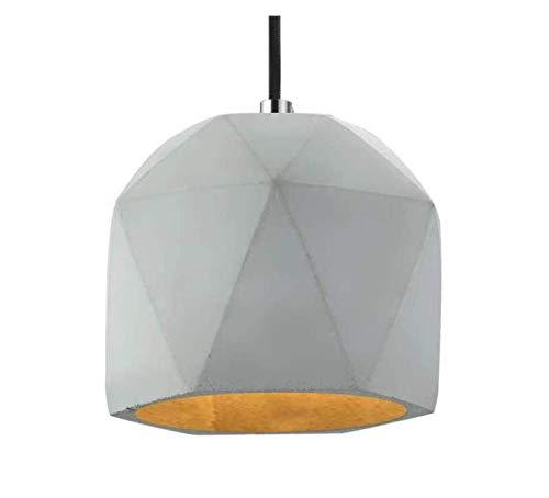 Lustres-projecteur-plafonnier Finition grise Luminaire de plafond à 1 lumière à encastrer, Simplicity, Antiquité Simplicité pour club Club Loft - Pastille éclairage de plafond