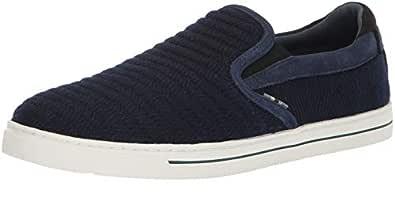 Ted Baker Men's DANIAM Sneaker, Dark Blue Wool, 7 Medium US