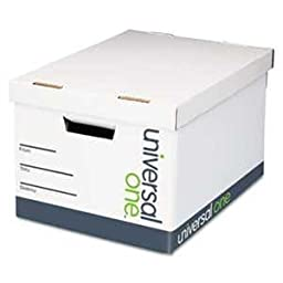 UNV95224 - Quick Set-Up Lift-Off Lid Storage Box