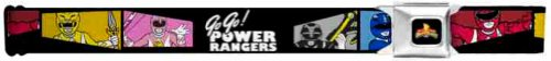 Power Rangers Seatbelt Belt - Mighty Morphin