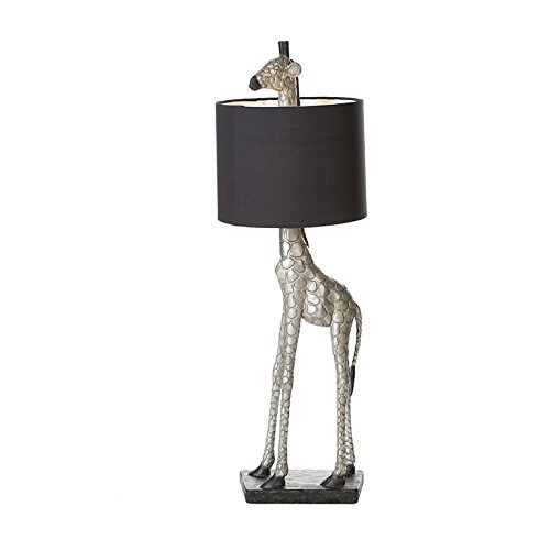 Lampe Droles Girafe Avec Abat Jour Noir 87 Cm Amazon Fr Cuisine