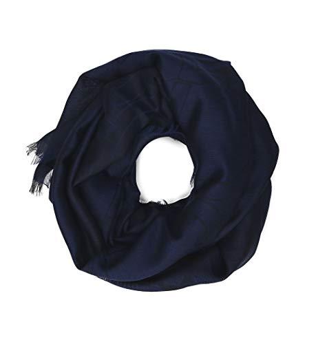 (Salvatore Ferragamo Women's 682939 Blue Silk Foulard)