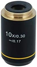 BoliOptics 10X Infinity-Corrected Achromatic Microscope Objective Lens Working Distance 6.75mm BM03013311
