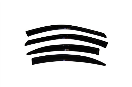 Auto Ventshade 94901 Original Ventvisor Side Window Deflector Dark Smoke, 4-Piece Set for 1996-2003 Ford Taurus, 1996-2005 Mercury Sable Sedan & Wagon (Taurus Ford Visor Vent)