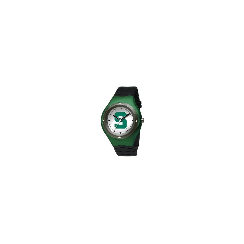 Michigan State Spartans Mens NCAA Prospect Big Kids Watch (Polyurethane Band)