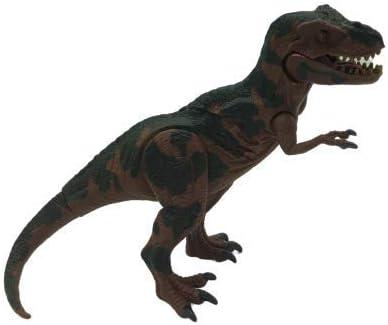 ML 12 Figuras de Dinosaurios de Aspecto Realista, Dinosaurios Jurassic World . Juguete para niños y niñas (Marron-Manchas-Verdes-Grande)