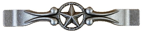 Set of 24 Drawer Handle Star with Barbwire Cabinet Pull Western Southwest Rustic Texas (Old ()
