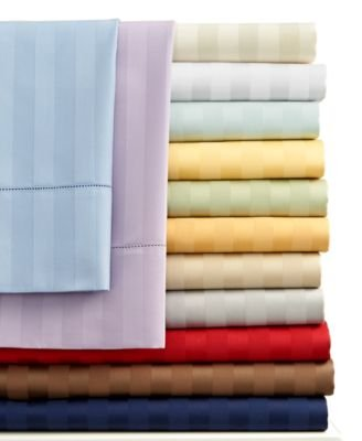 Charter Club Damask Stripe 500 Thread Count Twin Sheet Set ()