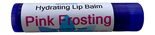 Best Formula Fun Flavored Lip Balm By Diva Stuff, Lots to Choose From and Super Soft Lips (Pink Frosting)