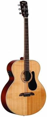 ALVAREZ 310316 ABT60E barítono guitarra eléctrica acústica ...
