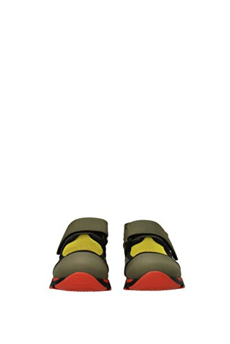 Femmes Marni uni Au Royaume Tissu Marni Sneakers snzwv04g02tcr86 Sneakers Vert tfgHHx