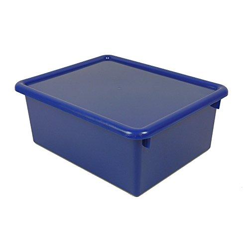 STOWAWAY Blau LETTER BOX WITH LID B007DYUX80 | Praktisch Und Wirtschaftlich